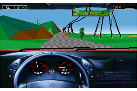 Test Drive III: The Passion Screenshots for DOS - MobyGames
