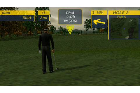 ProStroke Golf - World Tour 2007 Game | PSP - PlayStation