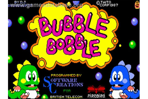 bubble bobble arcade game - Video Search Engine at Search.com