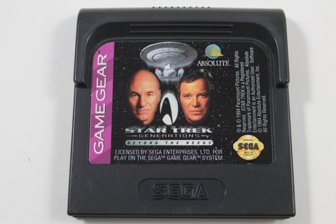 Star Trek Generations Beyond the Nexus - Sega Game Gear