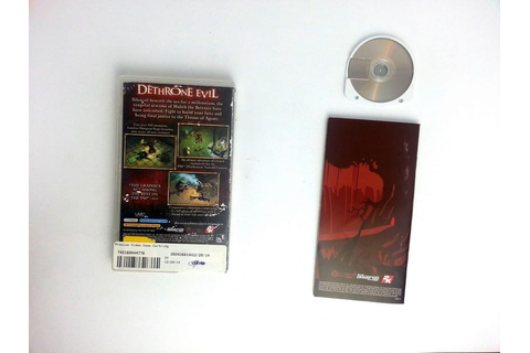 Dungeon Siege Throne of Agony game for PSP (Complete ...