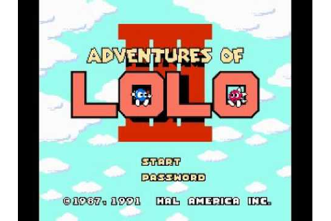 Adventures of Lolo 3 (NES) Music - Game Theme - YouTube