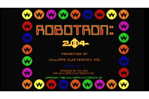 CGRundertow ROBOTRON 2084 for Arcade Video Game Review ...
