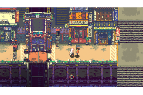 Eastward: Charming Chinese Pixel Art Adventure