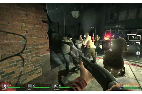 Playing Left 4 Dead with Boot Camp – Left 4 Dead Game Play ...