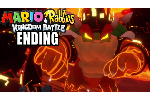 Mario + Rabbids Kingdom Battle ENDING / Final Boss - YouTube