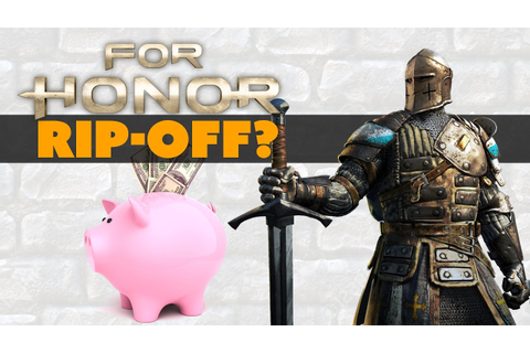 For Honor NEW CONTENT RIP-OFF? - The Know Game News - YouTube
