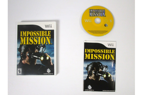 Impossible Mission game for Wii (Complete) | The Game Guy