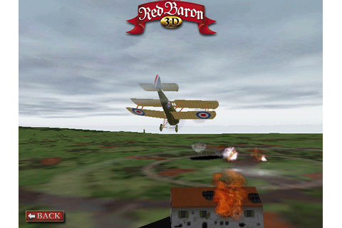 GameOver - Red Baron 3D (c) Sierra