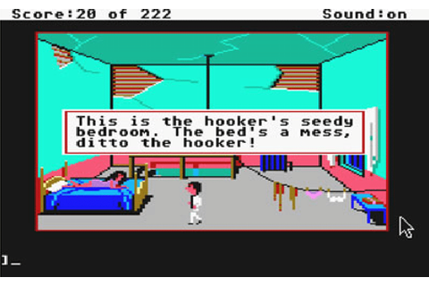 Leisure Suit Larry in the Land of the Lounge Lizards ...