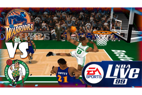 Nba Live 99 Golden State Warriors-Boston Celtics Season ...