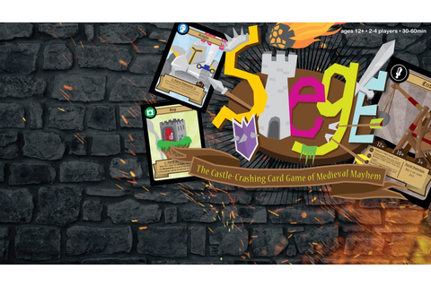 Siege - The Castle-Crashing Card Game of Medieval Mayhem ...