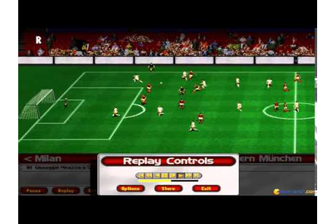 Ultimate Soccer Manager 98 gameplay (PC Game, 1998) - YouTube