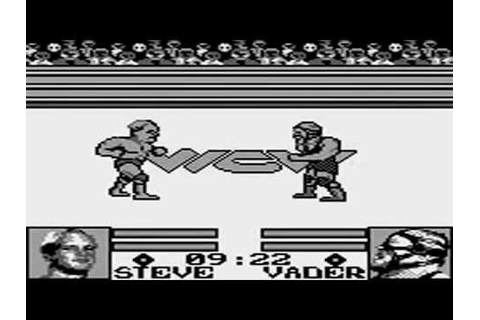 WCW : The Main Event sur Game Boy - YouTube