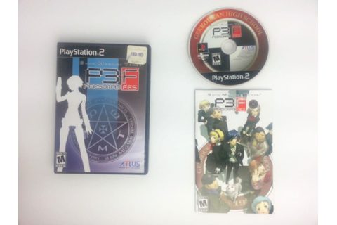 Shin Megami Tensei: Persona 3 FES game for Playstation 2 ...