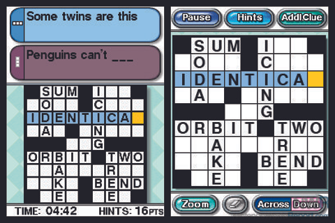 Crosswords DS - Game - Nintendo World Report