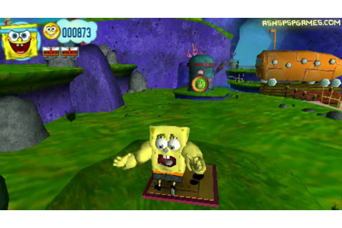 Spongebob's: Truth Or Square - PSP - #05. Becoming A FRY ...
