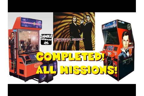 Sega's CONFIDENTIAL MISSION! Arcade Game Complete Play ...