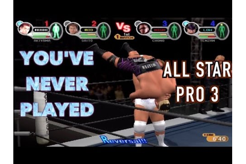 [Full Download] All Star Pro Wrestling Ps2