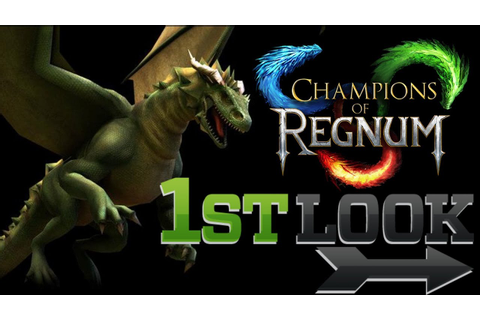 Champions of Regnum - First Look - YouTube