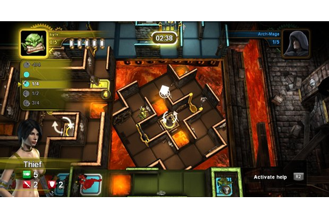 Board game Dungeon Twister coming to PS3 | Shacknews