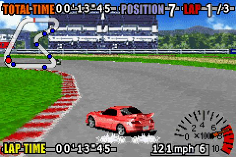 GT Advance 3: Pro Concept Racing (2002) by MTO GBA game