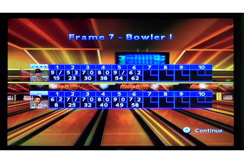 AMF Bowling Pinbusters! Gameplay 11 - YouTube