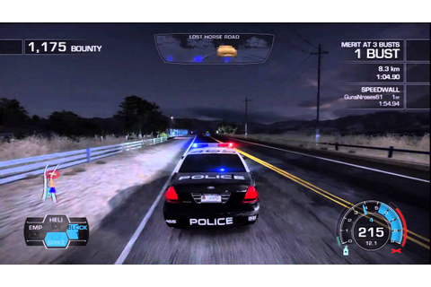 Need For Speed : Hot Pursuit - PS3 Demo Police Chase - YouTube