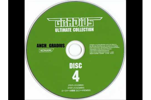 Gradius Ultimate Collection 4 -Gofer no Yabou Episode II ...