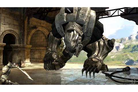 Infinity Blade 2 Level 100 MX Goliath - YouTube