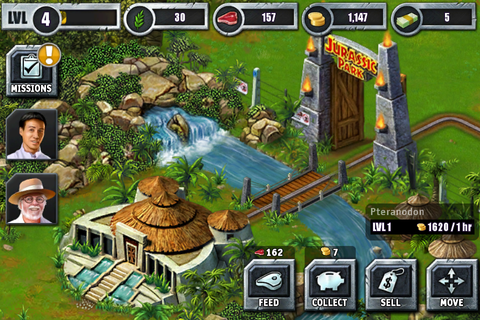 According To Whim: Review: Jurassic Park Builder app