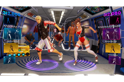 Dance Central 2 (2011) promotional art - MobyGames