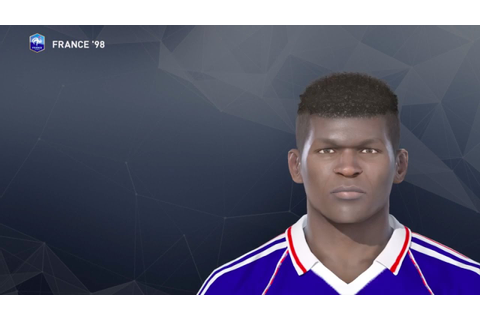 M. Desailly PES 2017 face & stats (France '98) - YouTube