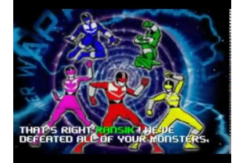 Power Rangers Time Force Walkthrough Complete Game (GBA ...