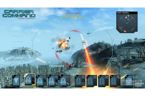 Carrier Command: Gaea Mission trailer shows Xbox 360 ...
