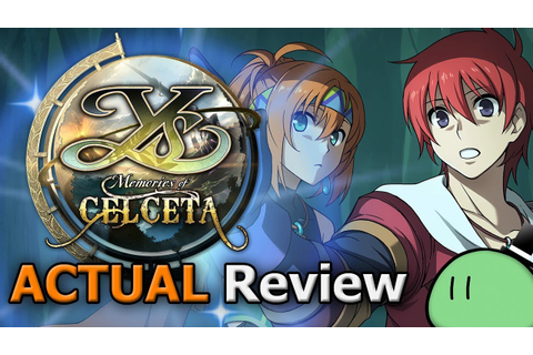 Ys: Memories of Celceta (ACTUAL Game Review) [PC] - YouTube