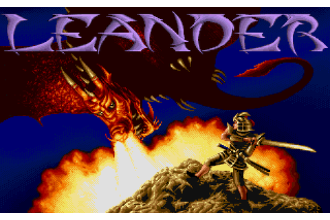 Leander (1991) by Traveller's Tales Amiga game