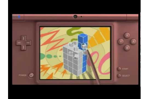 Nintendo DS Picross 3D Game Trailer - YouTube