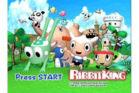 Ribbit King (2004) by Bandai GameCube game