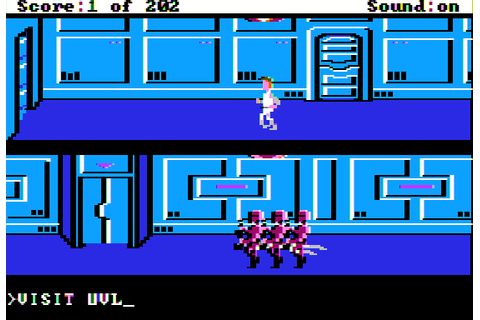 Space Quest: The Sarien Encounter (1987) by Sierra On-Line ...