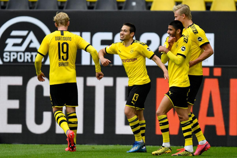 Quiet game day for Dortmund as Bundesliga soccer resumes ...