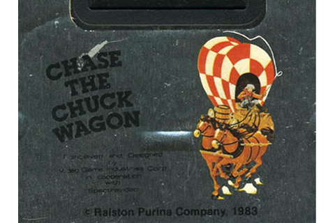 Chase the Chuck Wagon Review for Atari 2600 (1983 ...