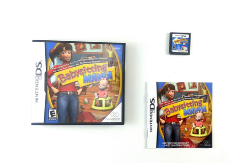 Babysitting Mania game for Nintendo DS (Complete) | The ...