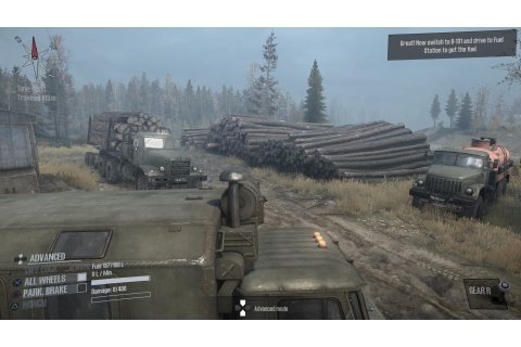 Spintires: Mudrunner - PS4 Review - PlayStation Country