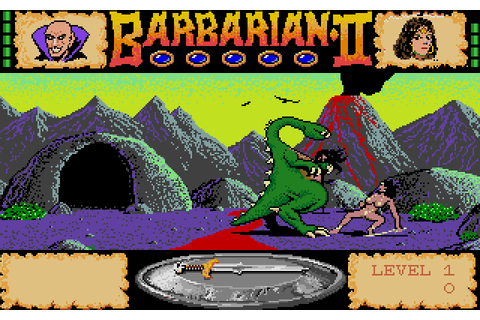 Barbarian II: The Dungeon of Drax (1988) by Palace ...