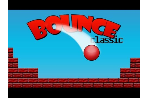 Bouncing Ball Classic game | Bouncing ball game | games ...