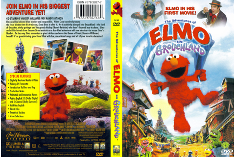 The Adventures of Elmo in Grouchland | DVD Database ...