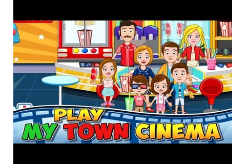 MY TOWN CINEMA Android / iOS Gameplay | FREE MOVIE GAME ...