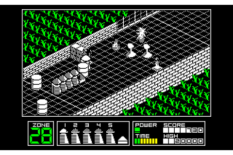 Highway Encounter (1985) by Vortex Amstrad CPC game