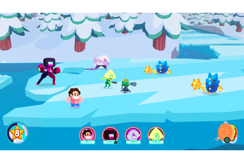 The new Steven Universe console game is easy on the eyes